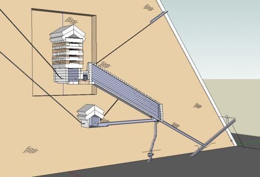 «Oh por Dios, hay algo allí dentro» Arqueólogo habla de un hallazgo en la Gran Pirámide
