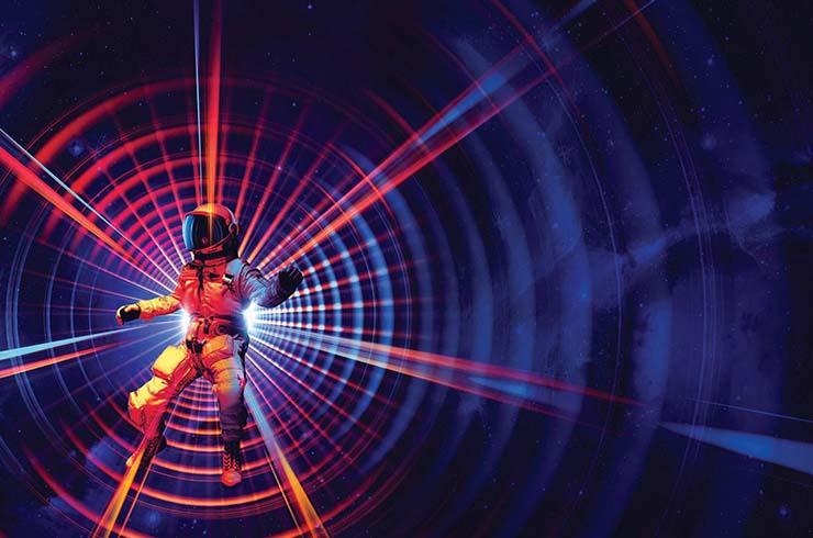viajar agujeros de gusano - Viajar a través del espacio-tiempo es posible: físicos dicen que se pueden crear agujeros de gusano humanamente atravesables