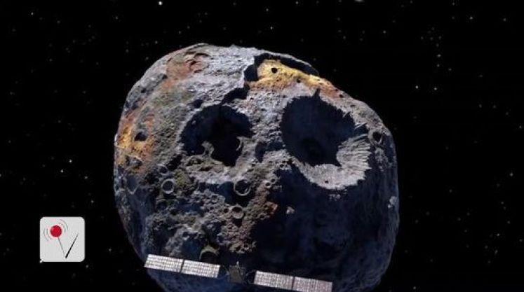 asteroide que puede cambiar nuestro mundo 16 Psique, el planeta fallido, se estudia cada vez más