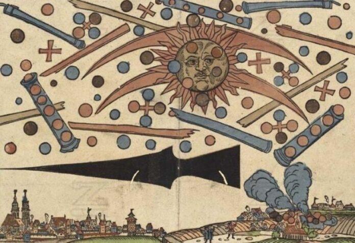 cosas que necesita saber sobre el avistamiento de ovnis en nuremberg 1561