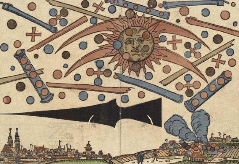 Cosas que necesita saber sobre el avistamiento de ovnis en Nuremberg, 1561