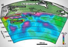 descubren una placa tectonica perdida llamada resurrection bajo el pacifico
