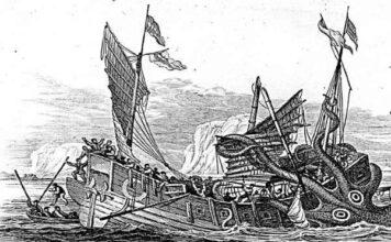 el kraken la bestia mitologica de los mares