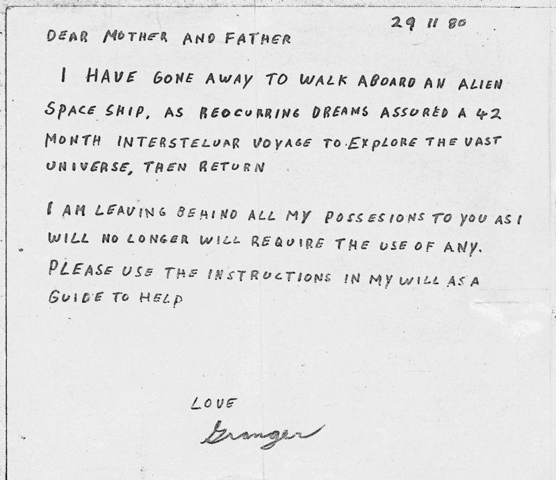 Granger Taylor: el «contactado» que fue llevado al espacio y desapareció sin dejar rastro