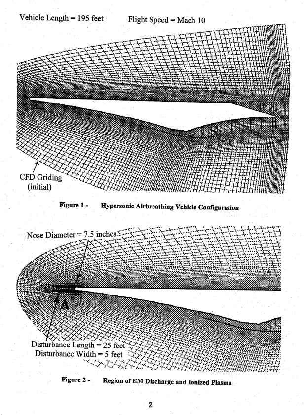 Naves hipersónicas envueltas en plasma inducido por energía, estarían siendo desarrolladas por Departamento de Defensa de EE. UU.