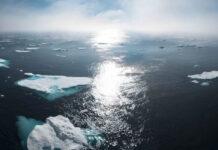por primera vez el hielo marino del artico no ha vuelto a congelarse a finales de octubre