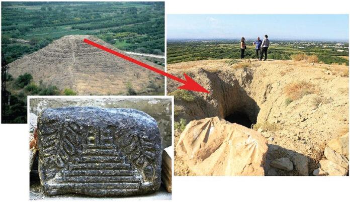 una antigua piramide en armenia el misterio de la estructura oculta de dvin