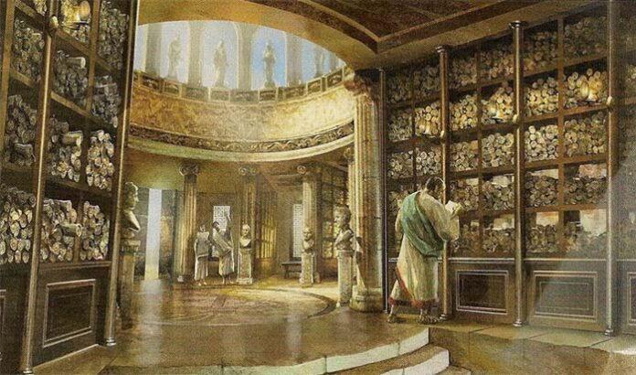 biblioteca de alejandria perdida del conocimiento original de la humanidad