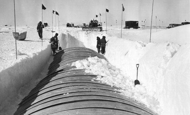 Ciudad subterránea en un glaciar: Túneles fueron construidos bajo Groenlandia