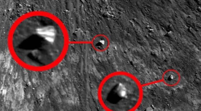 descubren estructura con forma de piramide en la luna video