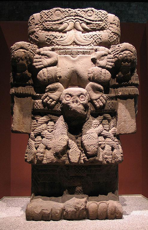 Coatlicue diosa azteca de la vida y la muerte