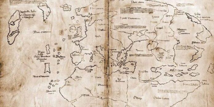 el mapa de los vikingos que visitaron america mucho antes que colon es falso