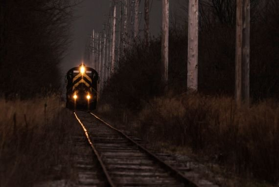 El enigmatico tren fantasma de Suecia