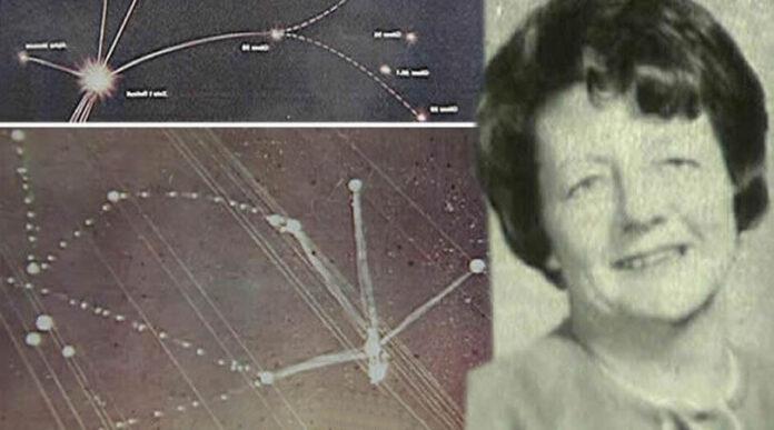 ella fue abducida y dibujo el mapa de una constelacion alienigena