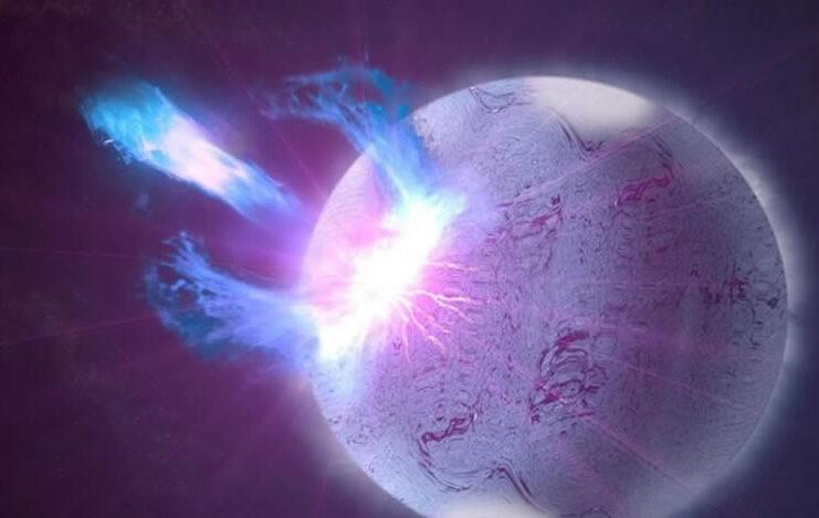 encuentran por primera vez el origen de una potente senal del espacio profundo