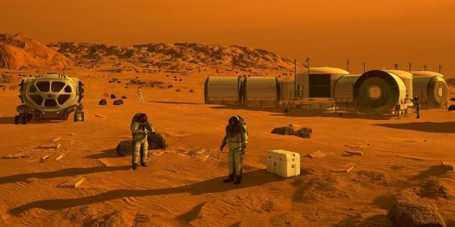 ex trabajador del programa espacial secreto en marte viven humanos desde el 1970