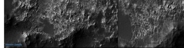 imagenes de la nasa captada en la superficie aun siguen dando que hablar posibles estructuras