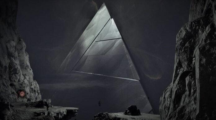 imagenes de la nasa muestran claramente una piramide en la luna