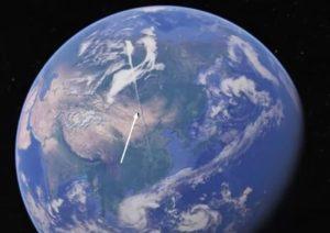 investigador descubrio un objeto extrano de unas 3000 millas de largo sobre la tierra