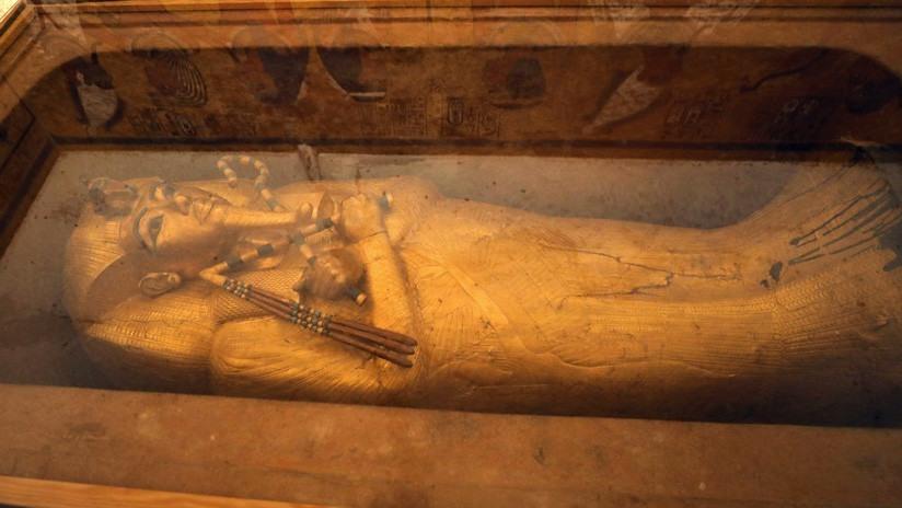 Momia del faraón Tutankamón