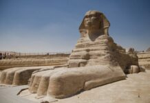 misterio no escrito por que las estatuas de los faraones egipcios tienen la nariz rota