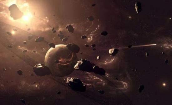 Los asteroides son los restos de cuerpos intermedios a partir de los cuales se crearon los planetas.