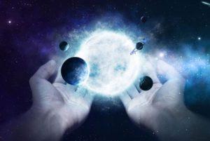 todo el universo no es mas que el pensamiento creado por dios