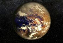 un planeta similar a la tierra estaba ubicado entre saturno y urano