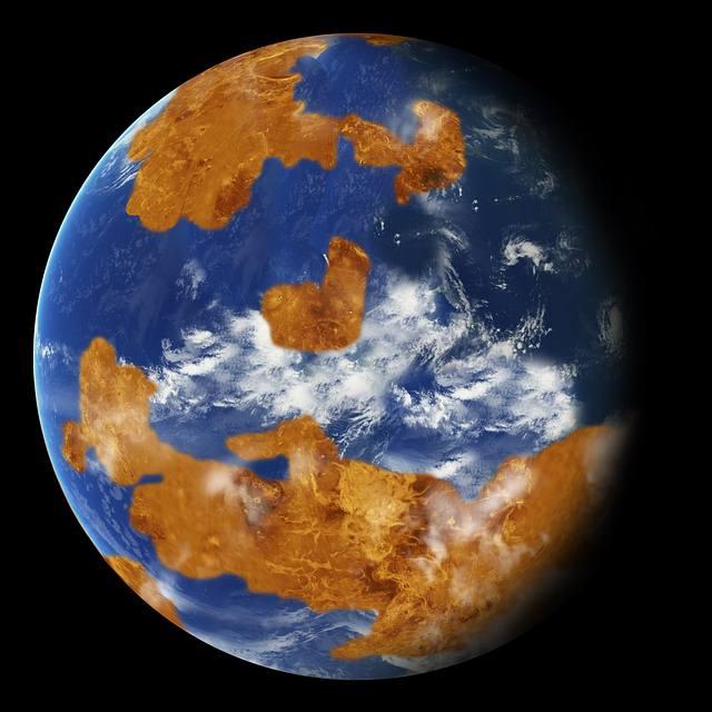 venus pudo ser un mundo con oceanos