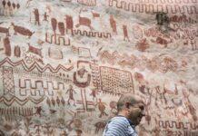 descubren miles de pinturas prehistoricas en la selva amazonica