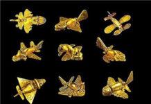 el asombroso avion dorado antiguo alta tecnologia en antiguas civilizaciones