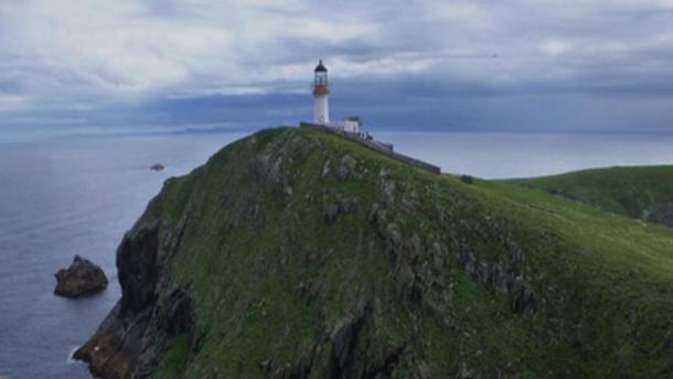 El faro de Eilean Mor, Escocia. (CC BY SA 2.0)