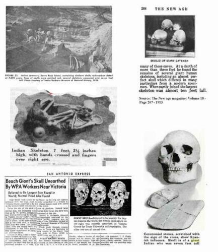 historia oculta se destruyeron miles de esqueletos de gigantes en 1900