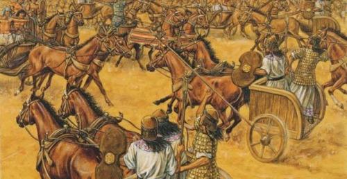 la batalla de kadesh enfrentamiento por los dioses anunnaki