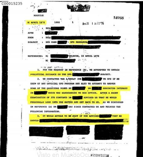 la cia desclasifica inesperadamente 3 mil documentos sobre ovnis que incluyen batallas entre militares y extraterrestres