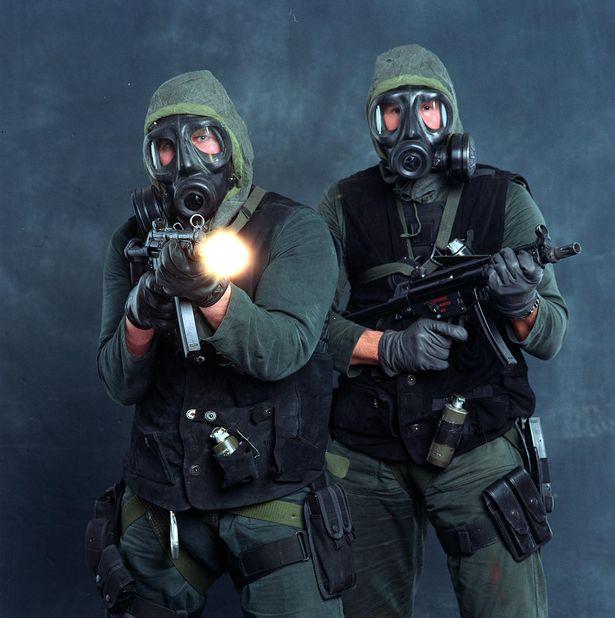 Unidad militar especial ha sido entrenada para responder a una invasión alienígena