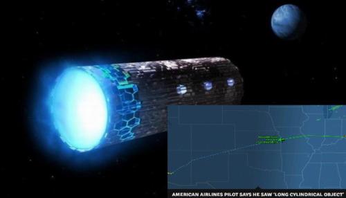 american airlines confirma contacto con ovni en forma de misil de crucero sobre ee uu