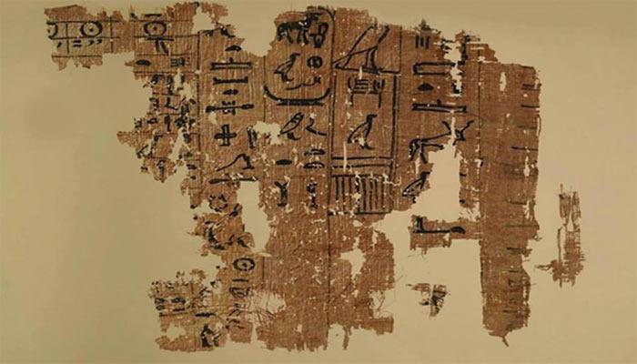 Antiguo manuscrito revela la existencia de un OVNI sobre la Esfinge