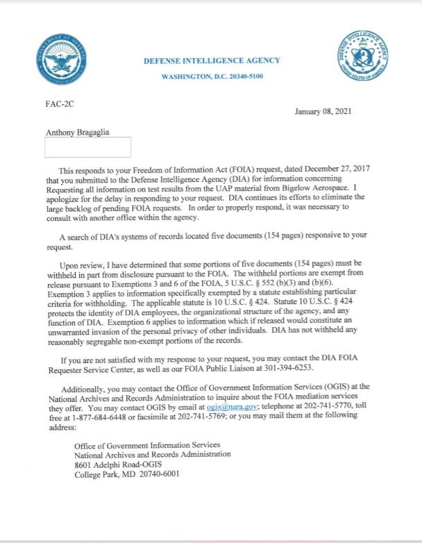 """El Pentágono ha admitido que ha estudiado los sitios de accidentes de ovnis y ha descubierto que """"cambiará nuestras vidas para siempre"""" 2"""