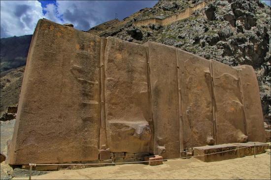 Objeto megalítico misterioso de Perú.