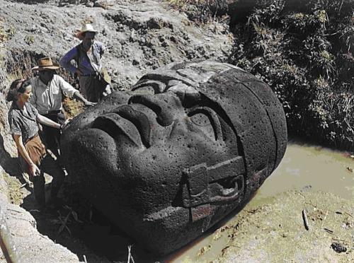 los miticos dioses reptil de los olmecas
