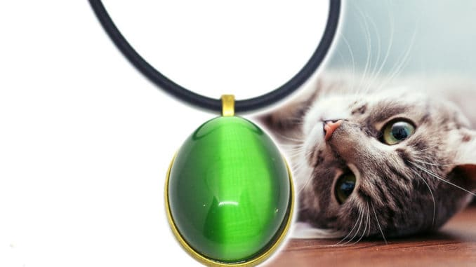 piedra ojos de gato crisoberilo