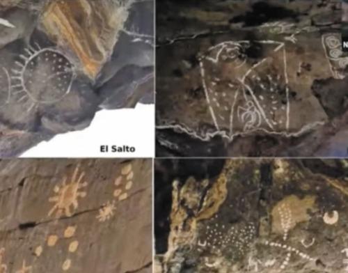 pinturas rupestres en mexico indican una conexion entre antiguos humanos y el espacio