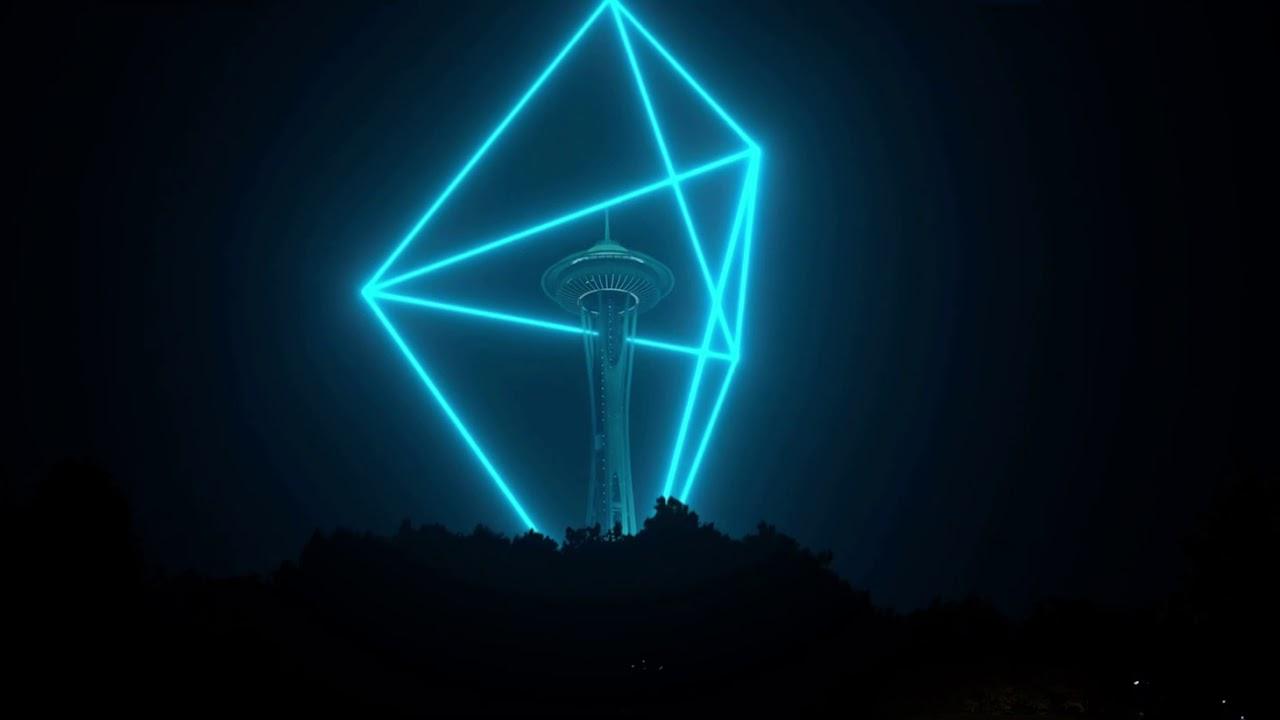 Evento Blue Beam de año nuevo 2021 en Seattle