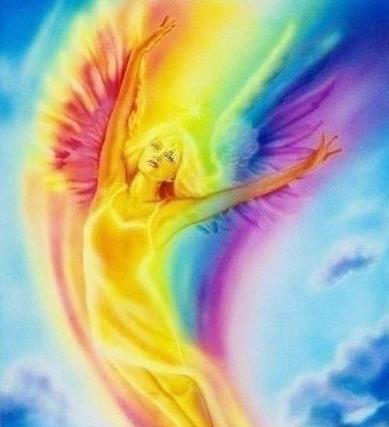 ángel siete rayos