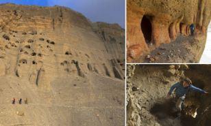 Cavernas de más de 2.000 años encontradas en el Himalaya