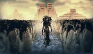 el dios alienigena blanco de los mesoamericanos