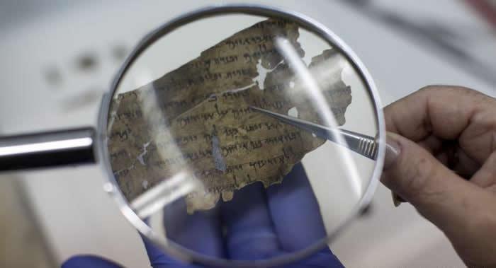 encuentran modernos pedazos de los Rollos del Mar Muerto por vez primera en 60 años
