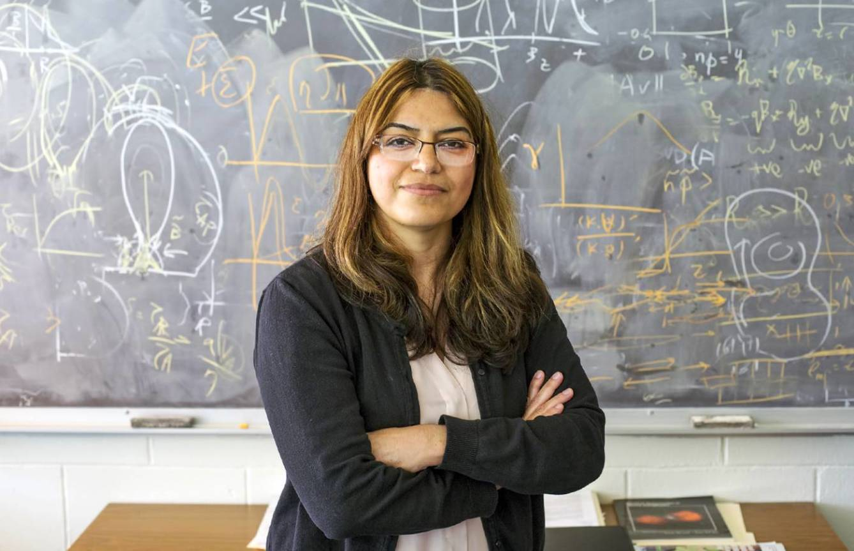 La Dra. Ebrahimi, del Princeton Plasma Physics Laboratory. (PPPL)