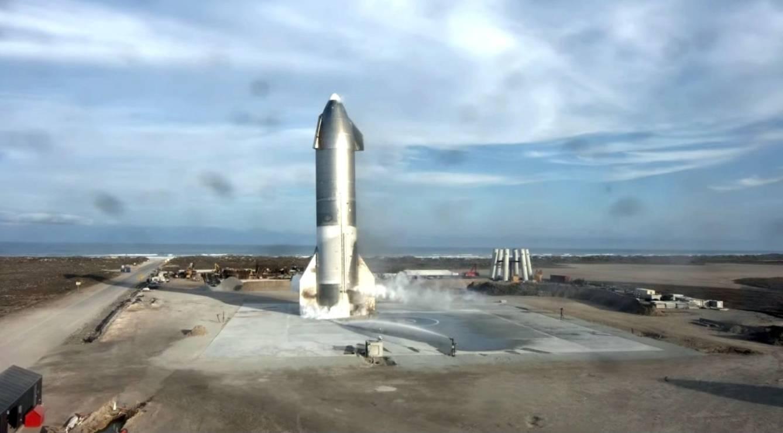 Los motores químicos como los del Starship no pueden llevarnos más allá de Marte. (SpaceX)